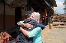 Ein junger, freigesetzter Nepalese